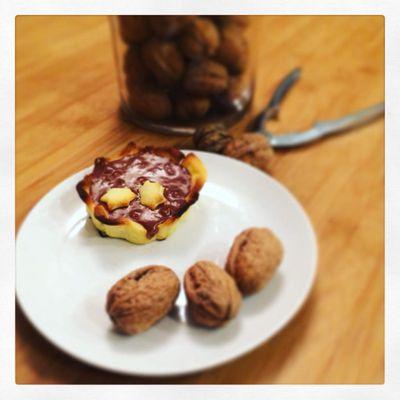 Tartelettes choco praliné et noix de pécan