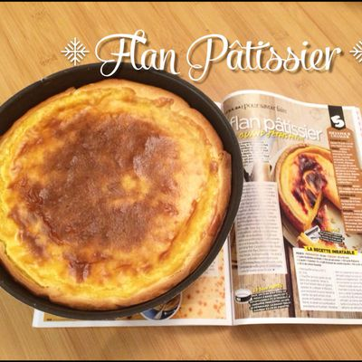Flan pâtissier ou Flan Parisien