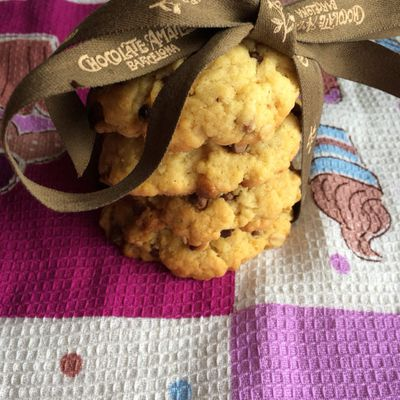 Cookies coco-cahuetes