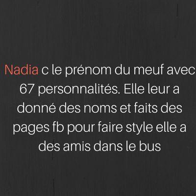 Nadia, C'est le prénom