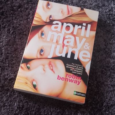 """Livre """"April,May and June"""""""