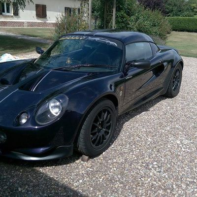 Lotus elise Conversion de la conduite RHD/LHD