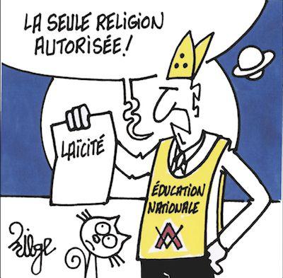 """Le """"début"""" d'une France laïque"""