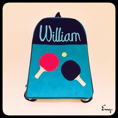 Sac à dos de William