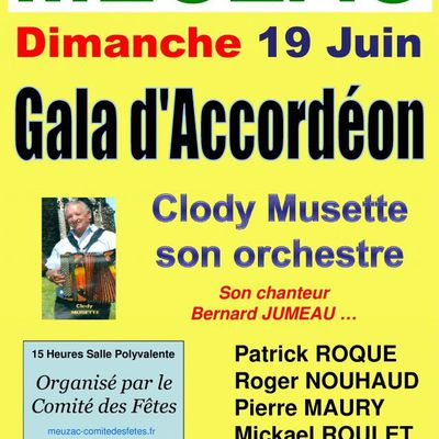 gala d'accordéon Meuzac