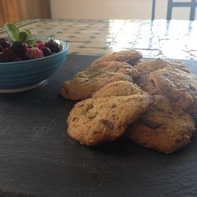 Cookies germe de blé pépites chocolat