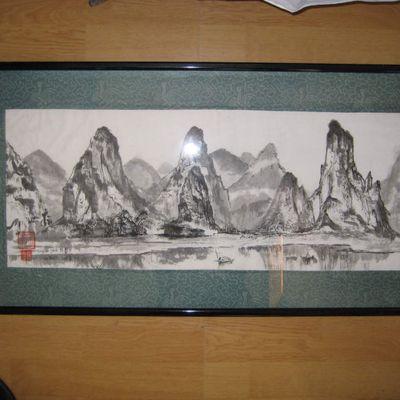 Encres de Chine...format long