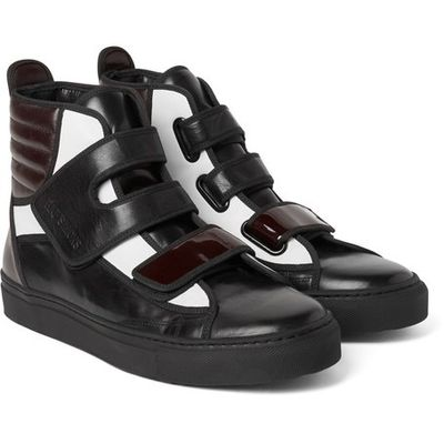 new edition of adidas by mr raf simons leather sneakers with bit of chocolate it