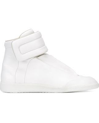 magler magical white sneakers very nice