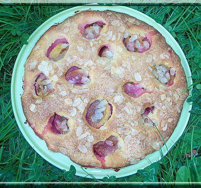 Gâteau aux prunes excellent et rapide !