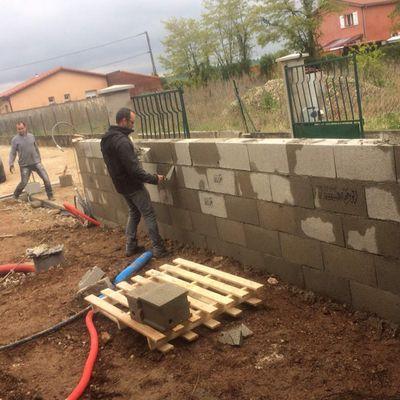 Mur number2 fini !
