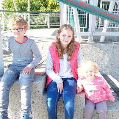 La famille Haesebaert full contente à Québec