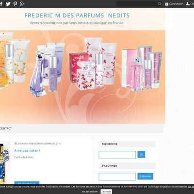 FREDERIC M DES PARFUMS INEDITS
