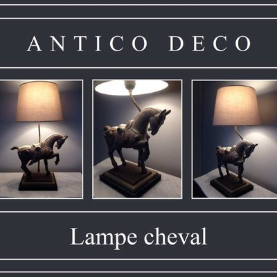 Lampe cheval