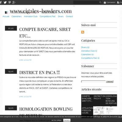 Cigales Bowlers Pertuis