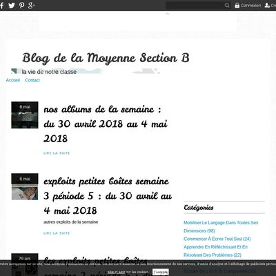 Blog de la Moyenne Section B