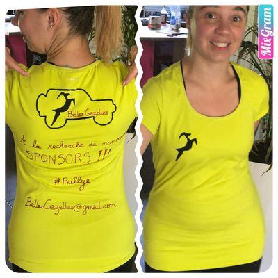 Tee shirts Belles Gazelles