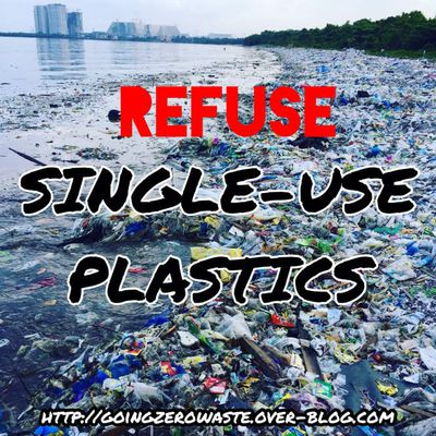 refuse single-use plastics