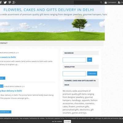 Flowers, cakes and gifts delivery in Delhi