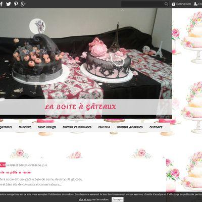 La boite à gâteaux