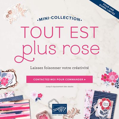 Une nouvelle collection Stampin'Up