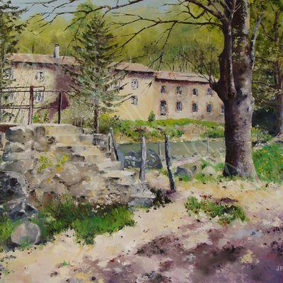 Passerelle au Moulin Feuillet