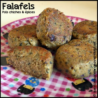 Falafels : pois chiches & épices