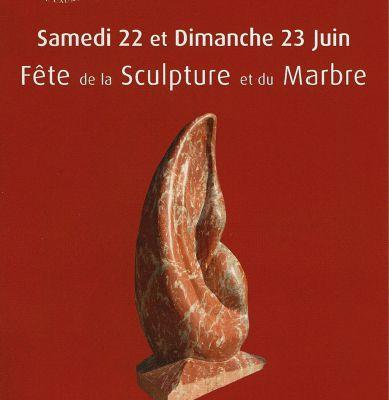 Fête de la sculpture et du marbre. Caunes 2013