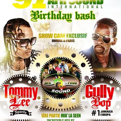 GULLY BOP & TOMMY LEE SPARTA - LE 15 MAI 2015