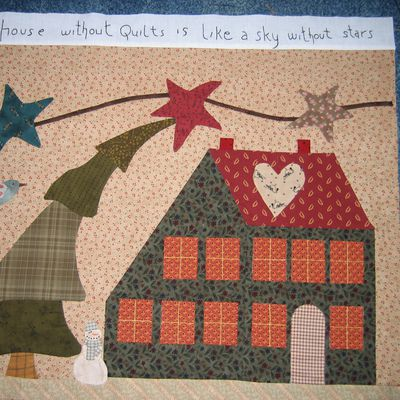 toujours born to quilt