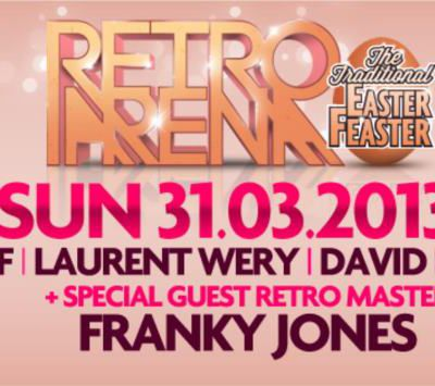 Retro Arena : Easter Edition, special guest Franky Jones !