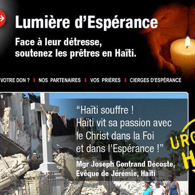 URGENCE HAÏTI: Face à la détresse, soutenez les prêtres d'Haïti
