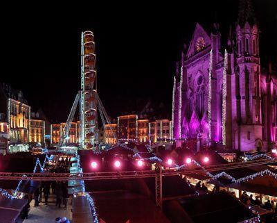Lumières de Noël à Mulhouse