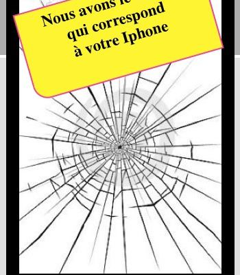 Iphone cassé…