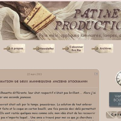 "Relooking blog ""Patine Production"" - Canalblog"