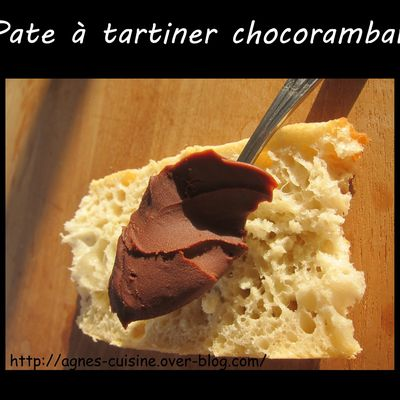 Pate à tartiner Chocorambar