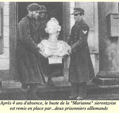 Buste de Marianne d'Injalbert