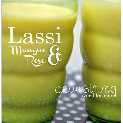 Lassi indien mangue & rose