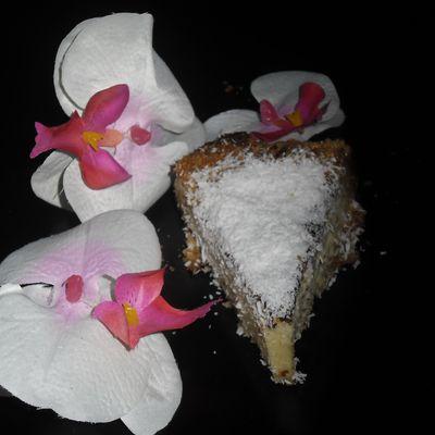 Cheesecake à la noix de coco