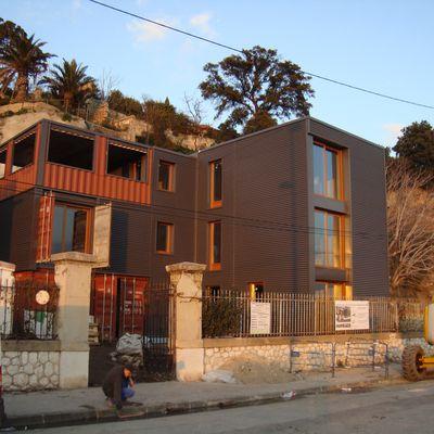 Maison conteneur_état de chantier_09