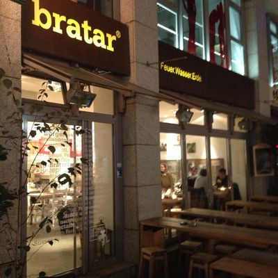 Burger-Restaurant bratar in Karlsruhe