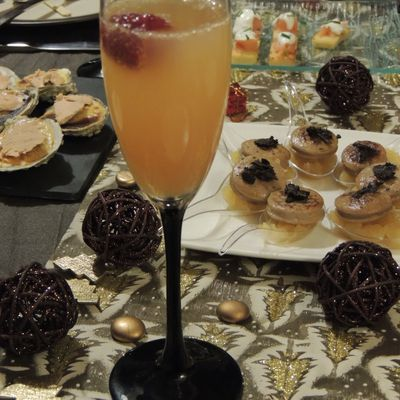 APERITIF CHAMPAGNE-PAMPLEMOUSSE