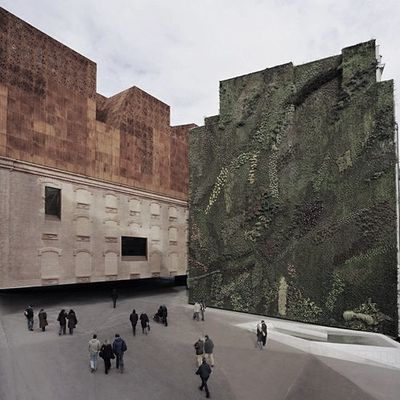 """CAIXA FORUM"" ARCHITECTURE by HERZOG & DE MEURON IN MADRID"