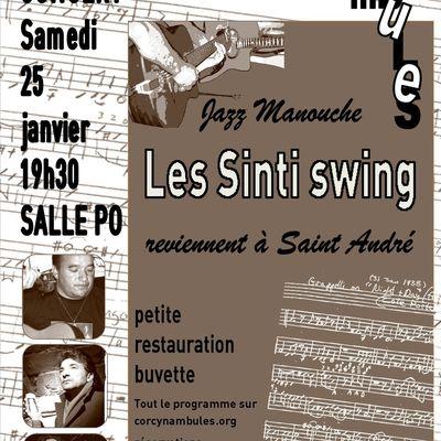 Jazz manouche samedi 25 janvier
