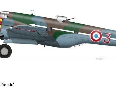 158 - Les Martin 167 A3 français