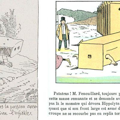 """Topfferiana. Saggio storico sul protofumetto. Antoine Sausverd, Le """"reminiscenze classiche"""" di Christophe, da: """"Töpfferiana"""", gennaio 2014."""
