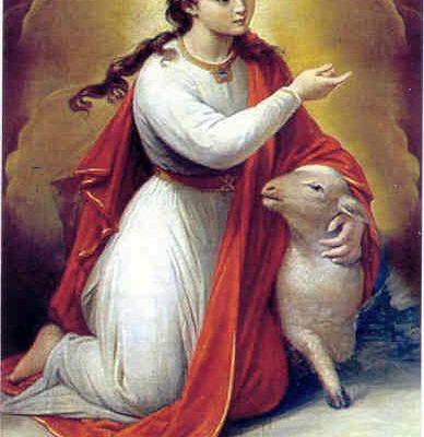 Sainte Agnès et Sainte Émérentienne
