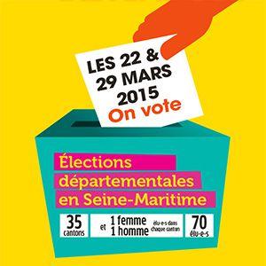 Liste des candidats aux élections Départementales des 22 et 29 Mars 2015 sur le Canton de Barentin