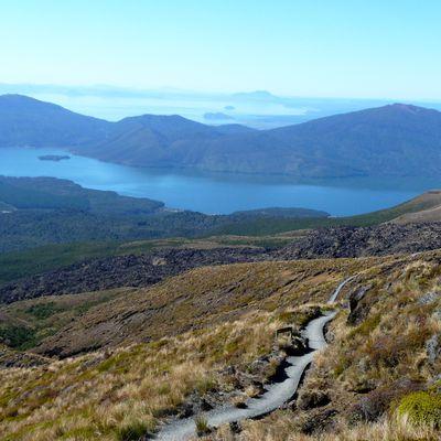 Tongariro Alpine Crossing .... la rando de l'île du Nord