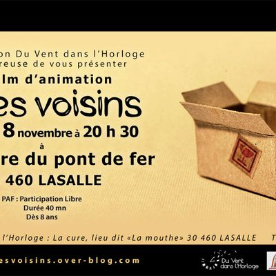 "Projection de ""Mes Voisins"" à Lasalle"